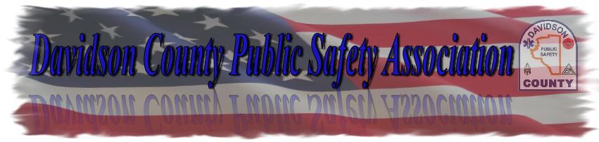 Davidson County Public Safety Association Logo